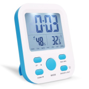 Alarm Clock, Warmhoming Digital Clock with Temperature and Humidity