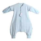 LETTAS Baby Boys and Girls Detachable Sleeves 1.0 Tog Cotton Sleeping Sack for Early Walker
