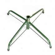OVOV 46cm Christmas Tree Stand 1.2m Base Iron Metal Bracket Rubber Pad with Thumb screw