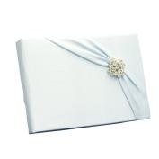 Ivy Lane Design Garbo Collection Wedding Guest Book, Light Blue