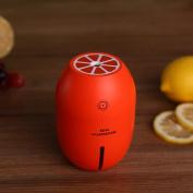 LEMON Humidifier Creative Mini Air Purifier Cute Mist Maker 180ml with Auto Shut-off Funciton for Dorm Office and Travel