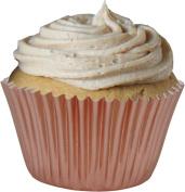 Rose Gold Foil Cup Cake Cases