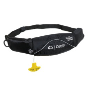Onyx M-16 Belt Pack Manual Inflatable Life Jacket for Stand Up Paddle Boarding, Kayaking and Fishing