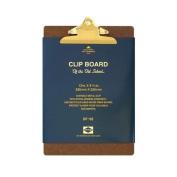 PENCO clipboard old school gold A4
