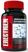 Erectigen - MAX Erection Pills - Ultra-Strong Erection Supplement Increases Erection Hardness, Erection Frequency, Libido - Boost Size - Male Enhancement Pills - Formula 2.0