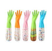 3 Pair Dish Washing Glove Thicker Kitchen Latex Rubber Waterproof Gloves