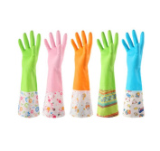 3 Pair Dish Washing Glove Thicker Kitchen Latex Rubber Laundry Clothes
