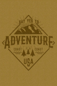 Say Yes to Adventure - Mountains - Badge