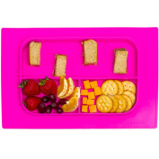 Baby Bento Placemat - Silicone Washable Toddler Placemat - No More Splatter Platter