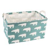 Storage Bins Toy Storage Basket Canvas Collapsible Toy Organiser for Nursery & Kid's Toy, Gift Baskets