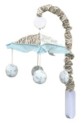 GEENNY Musical Mobile, Enchanted Forest Owls Family