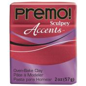 Premo Sculpey Polymer Clay 60mls-Red Glitter