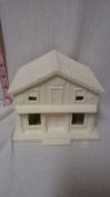 Village Sweet House 13cm ready to paint ceramic bisque