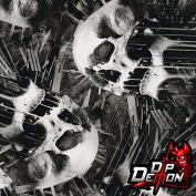Dripping Skulls Hydrographic Water Transfer Film Hydro Dipping Dip Demon
