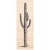 Tall Saguaro Cactus Rubber Stamp