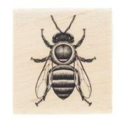 Honey Bee Rubber StampNew by