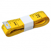 HSELL Pack of 4pcs 300cm/120inch Flexible Tape Measure Double-scale Soft Tape Weight Loss Medical Body Measurement Sewing Tailor Cloth Ruler Dressmaker Flexible Ruler Heavy Suty Tape Measure