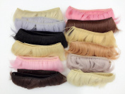 5.1cm x 100cm Set Of 12 Colour SD Doll DIY Hair Curtains BJD/- For Arts and Crafts, Doll Making