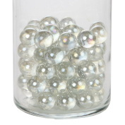 Home-X Decorative Glass Beads, Vase Filler Beads. Round