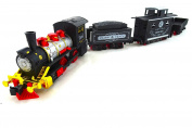 Classic Steam Train Toy Play Set Battery Operated Toy Trains With Train Tracks