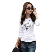 Exclusive Fashion Long Sleeve Women Crew Neck T-Shirts Blouse, Ninasill Beautiful Bottoming Look Thin Shirt Tops Tees