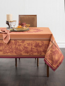 Benson Mills Harvest Royalty Engineered Yarn Dyed Jacquard Tablecloth, 180cm Round