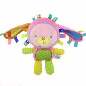 Baby Kids Cute Cartoon Animal Soft Plush Rattles Hand Bells Educational Funny Toys,Hand Rattle Toys Gift for Newborn
