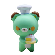 Glorrt 1PC Cute Chef Bear Soft Cartoon Doll Decompression Pressure Relief Squishy Squeeze Jumbo Scented Slow Rising Toys