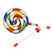 Magical Imaginary Kids Drum Set/Toddler Drum Set/Baby Drum Set/ Toy Drum Set/drum set for kids-Cute Baby Lollipop Shape Music Drum