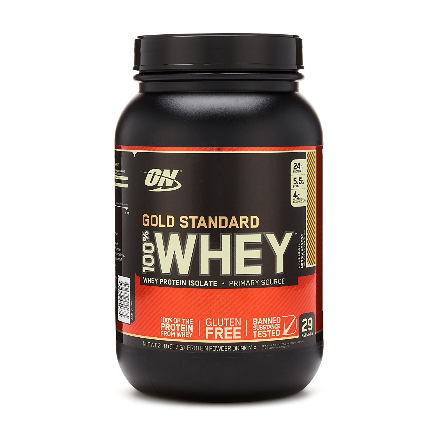 Endurance & Energy Bars, Drinks & Pills 100% Whey Gold Standard Schokolade Dip Bananen 0.9kg Vitamins & Dietary Supplements