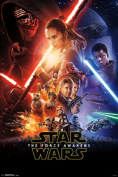 Star Wars The Force Awakens One Sheet Movie Poster 22x34