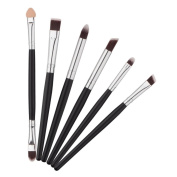 Coobbar 6Pcs Makeup Brushes Set Professional Lip Eyeshadow Blush Brush Beauty Cosmetic Brushes