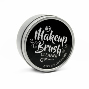 BK Makeup Brush Cleaner and Colour Removal Sponge - Quickly clean and remove eye shadow or blush colour from makeup brush to switch colours - Great for any cosmetic brush cleaning