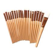 Becoler 20 PCS Makeup Brushes Set Kabuki Foundation Contour Blending Blush Brushes