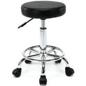 New MTN-G Adjustable Barber Tattoo Salon Stool Modern Ergonomic Saddle Seat Chair Black