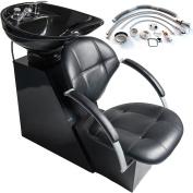 New MTN-G Backwash Ceramic Shampoo Chair Bowl Sink Unit Station Beauty Spa Salon Equipment