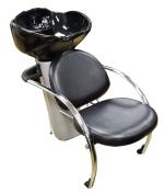 Italica 2805C Classic Daphne Shampoo Side or Backwash Unit Large Deep Tilting Porcelain Bowl UPC Coded Faucet