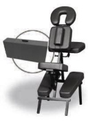Italica 3829 Portable Massage Chair With Carrying Strap