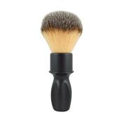 RazoRock 400 Plissoft Synthetic Shaving Brush - Matte Black Handle