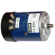 Maxwell Motor Cima - 1200w - 24v - 4-Hole Flange Vertical/Horizontal = NONE | Rope Diameter (Inches
