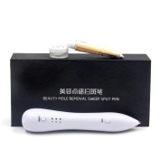 Dot Mole Removal Pen, Freckles, Senile Plaques, Tattoo Pigmentation Skin Tag Nevus Removing Beauty Device USB Charging, By Special Sun(Repiar Cream)