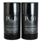 Ralph Lauren Polo Black Alcohol Free Deodorant Stick, 2 Count