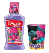Trolls Mouthwash & Rinse Cup Bundle