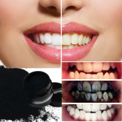Teeth Whitening Powder, Activated Charcoal Teeth Whitening Powder Natural Organic Bamboo Toothpaste