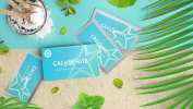 Cali White Teeth Whitening Strips ZERO PEROXIDE GEL, Professional Results for Sensitive Teeth, Easy & Convenient Home Kit includes 14 Treatments (28 Strips) with a Fresh Mint Flavour