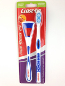 Close-Up Fresh Breath Kit Triple Cleaning for Tongue, Teeth & Cheeks (Soft)