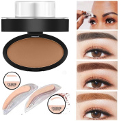 Sympath Natural Eyebrow Powder Makeup Brow Stamp Palette Delicated Shadow Definition