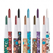 10 Colours Shimmer Matte Eyeshadow Pencil Eyeliner Stick Cosmetic Set