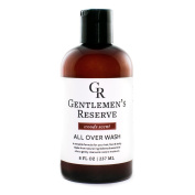 Men's Organic Wash 2 in 1 - Body Wash + Face Wash - All Natural & Organic - Good for Normal, Dry Skin or Sensitive Skin