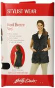 Betty Dain Kool Breeze Stylist Vest, Black, Medium/Large by Betty Dain